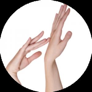Depilacja laserowa rąk.